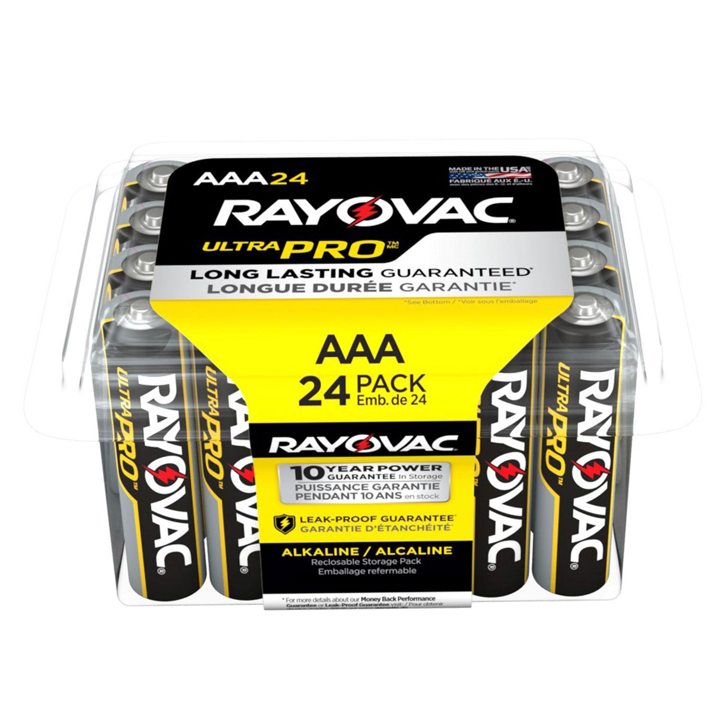 Ultra Pro Alkaline AAA Batteries, 24/Pack - Sierra Office