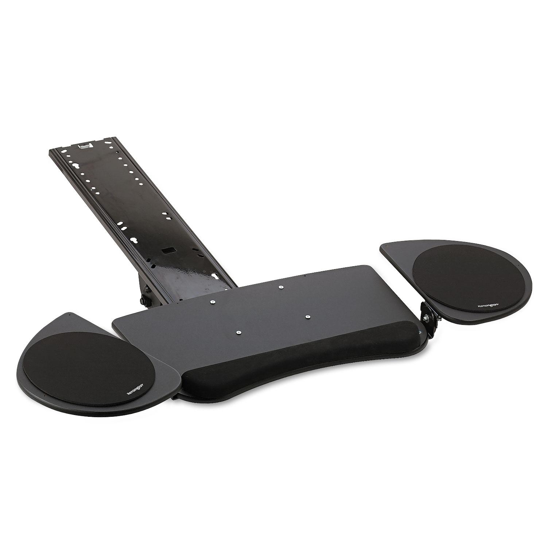 Adjustable Articulating Underdesk Keyboard Platform By