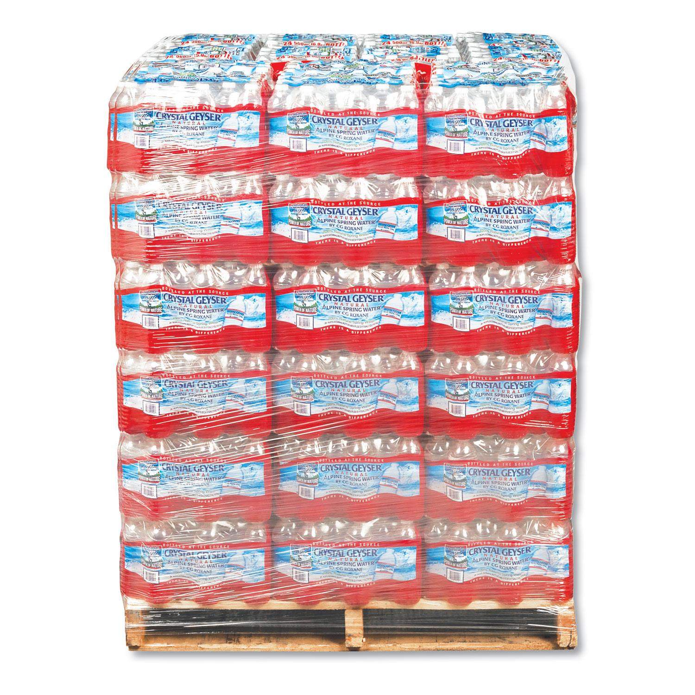 84 case pallet of water bottle