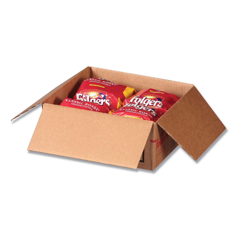 Coffee Filter Packs, Regular, 1.05 oz Filter Pack, 40/Carton