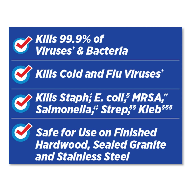 CLO31457CT Disinfecting Wipes w//Micro-Scrubbers Clorox