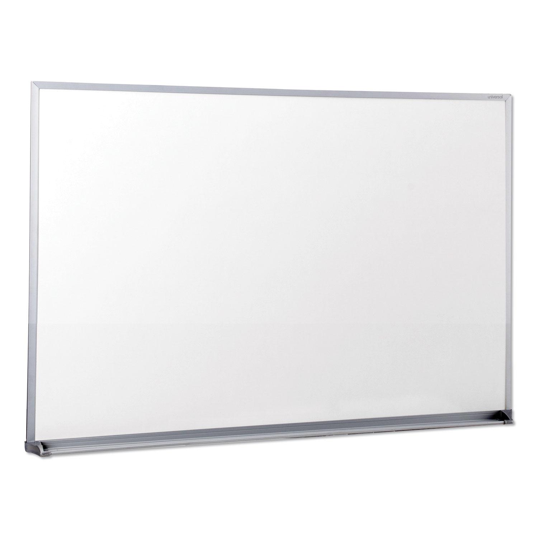 Dry Erase Board, Melamine, 36 x 24, Satin-Finished Aluminum Frame