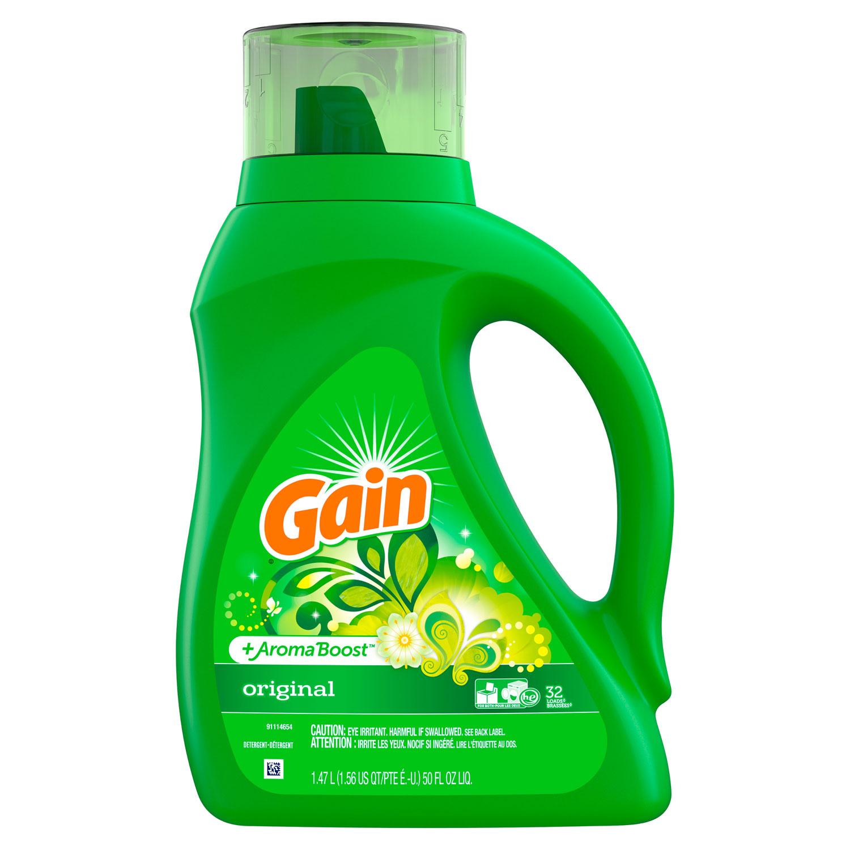Liquid Laundry Detergent, Original, 50oz Bottle, 6/Carton