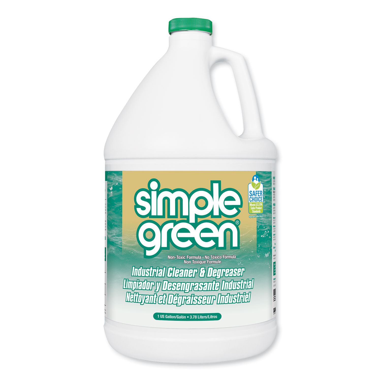 Industrial Cleaner and Degreaser, Concentrated, 1 gal Bottle