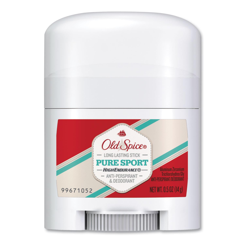 High Endurance Anti-Perspirant and Deodorant, Pure Sport, 0.5 oz Stick
