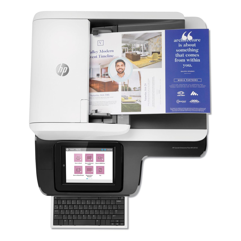 ScanJet Enterprise Flow N9120 fn2 Document Scanner, 75 to 600 dpi