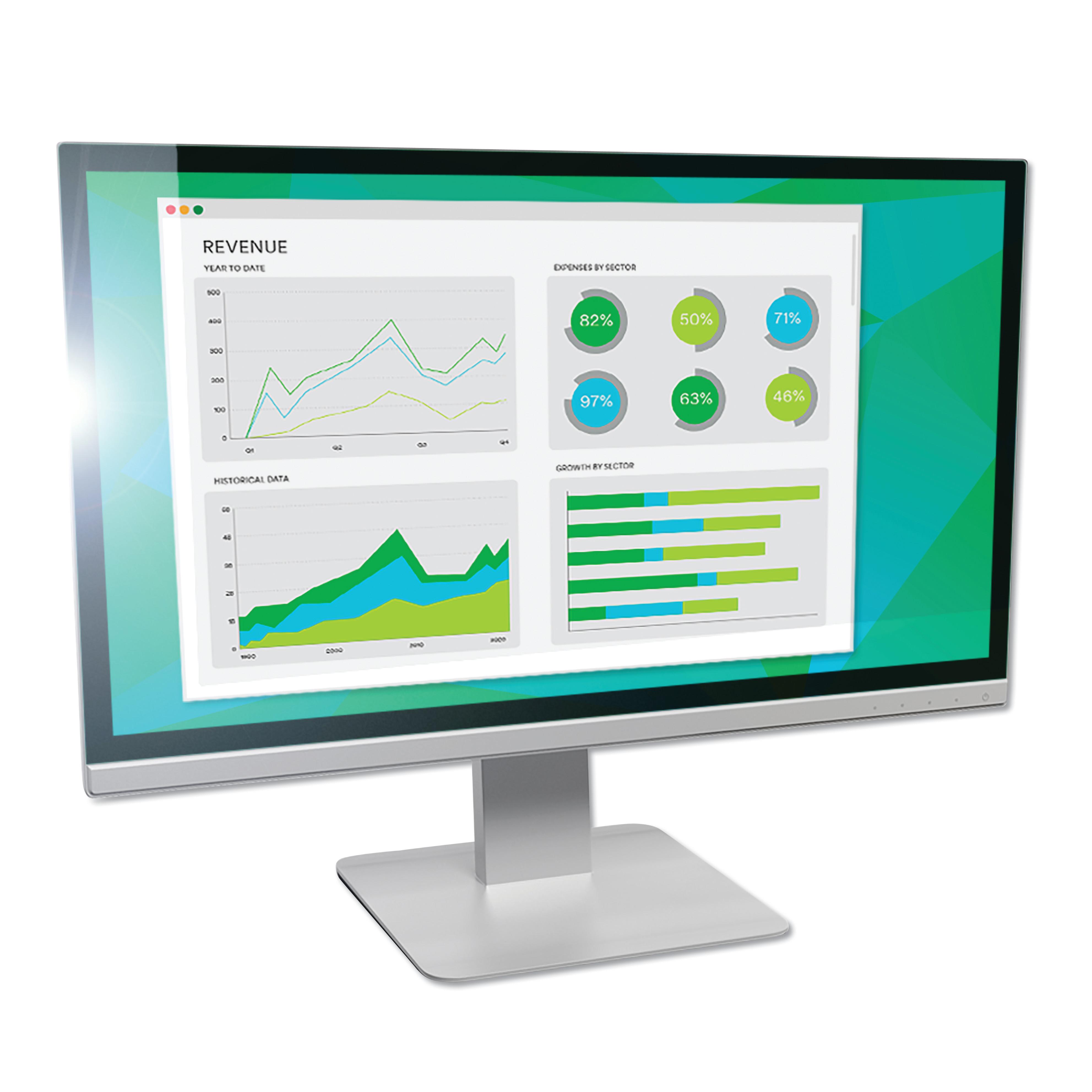 """Antiglare Frameless Filter for 19.5"""" Widescreen Monitor, 16:9 Aspect Ratio"""