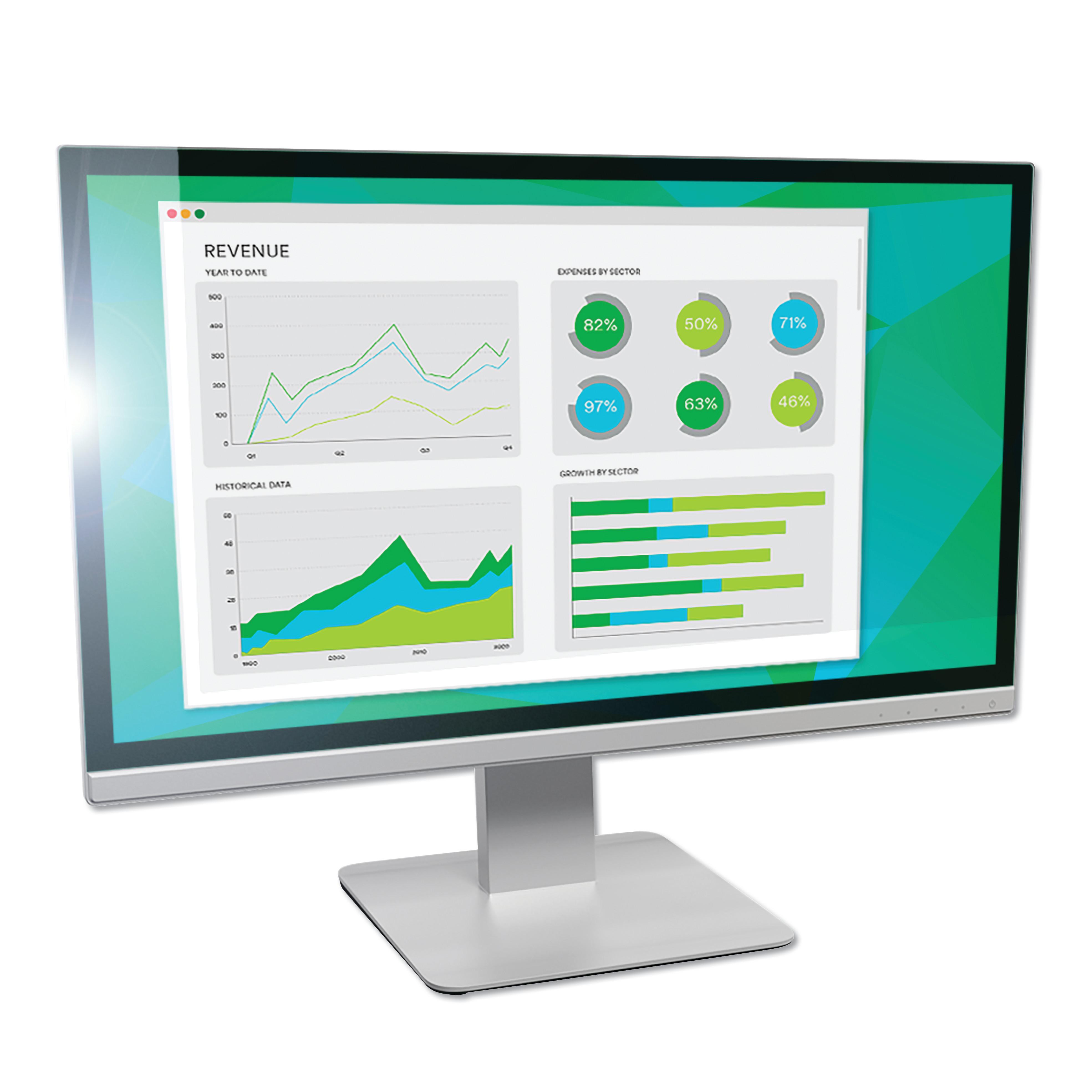 """Antiglare Frameless Filter for 19"""" Widescreen Monitor, 16:10 Aspect Ratio"""