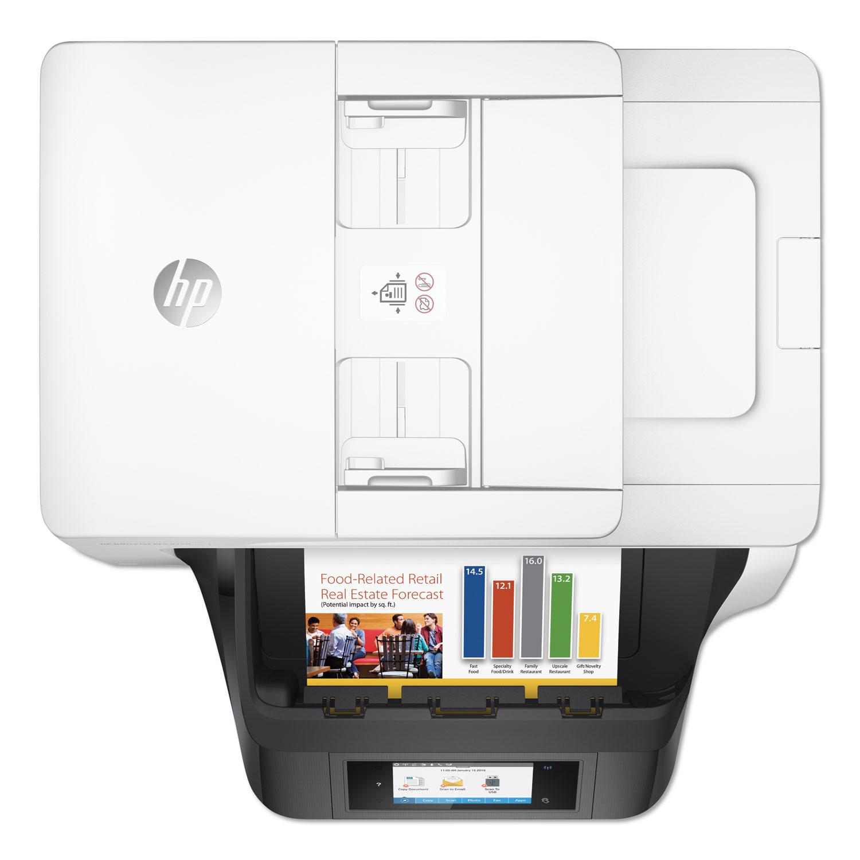 OfficeJet Pro 8720 Inkjet Printer, Copy/Fax/Print/Scan