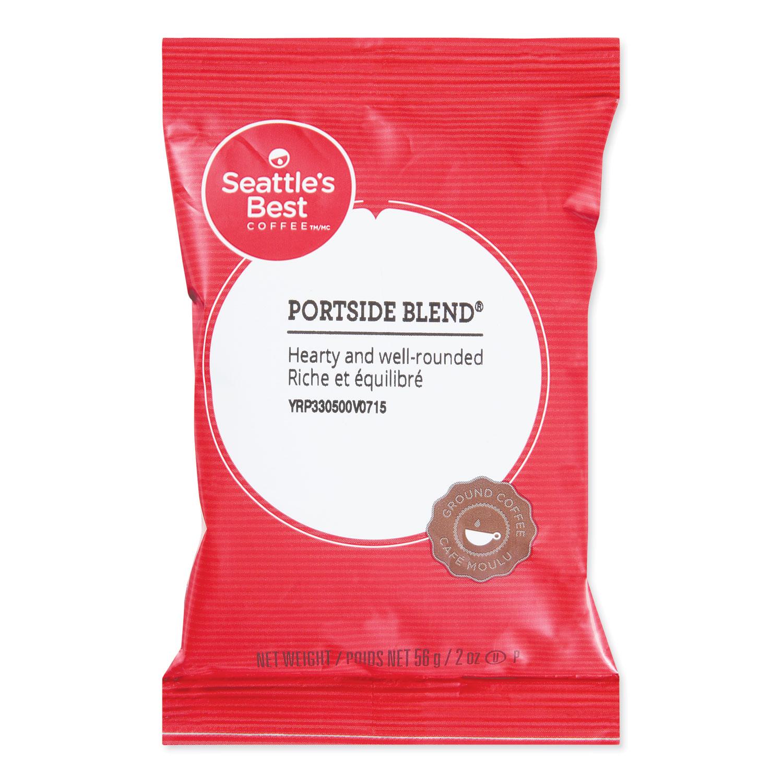 Premeasured Coffee Packs, Portside Blend, 2 oz Packet, 18/Box