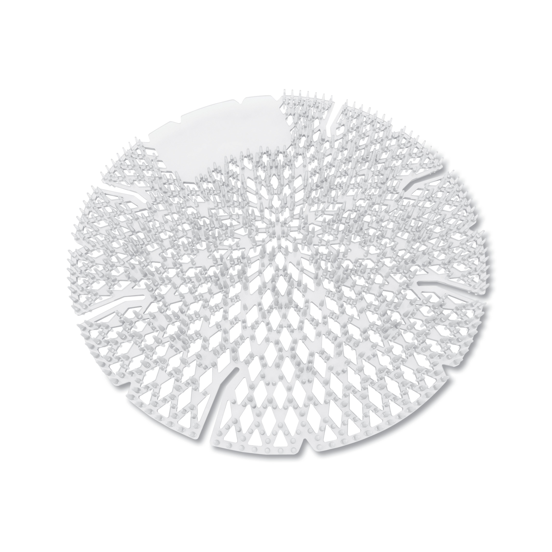 Diamond 3D Urinal Screen, Melon Mist, Clear, 10/Pack, 6 Pack/Carton