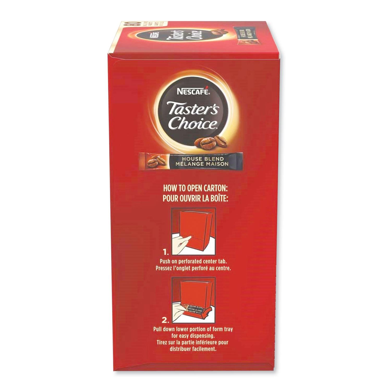 Taster's Choice Stick Pack, House Blend, .06 oz, 480/Carton