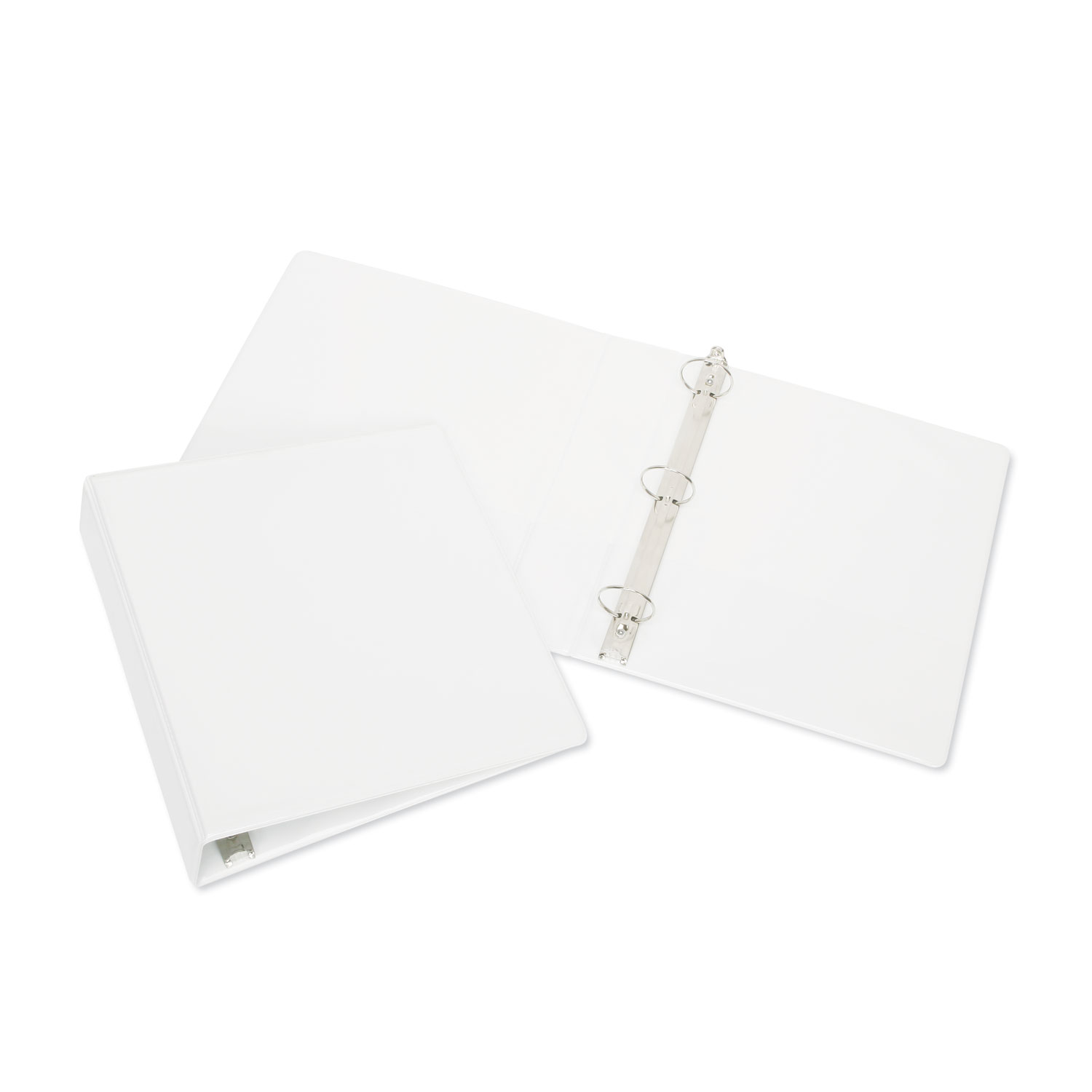 7510015104859 Round Ring View Binder 3 Rings 05 Capacity 11 X 85 White