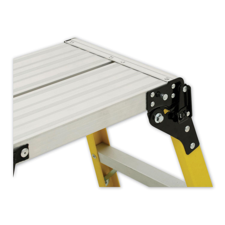 Fiberglass Mini Working Platform Step Stool 1 Step 300