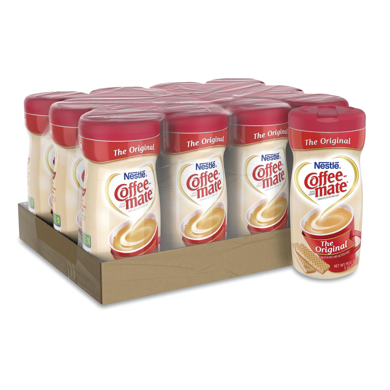 Non-Dairy Powdered Creamer, Original, 11 oz Canister, 12/Carton