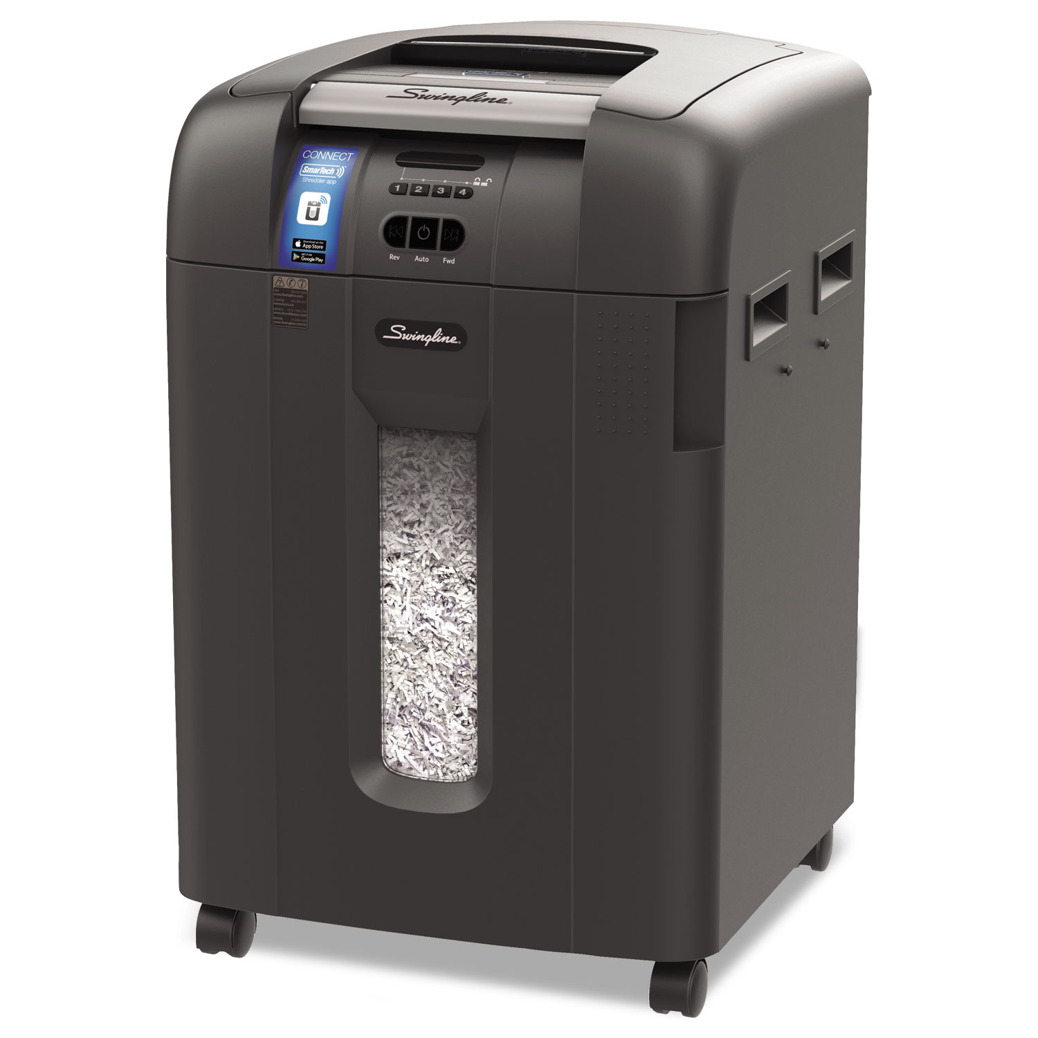 Stack-and-Shred 600XL Auto Feed Super Cross-Cut Shredder Value Pack, 600 Auto/10 Manual Sheet Capacity