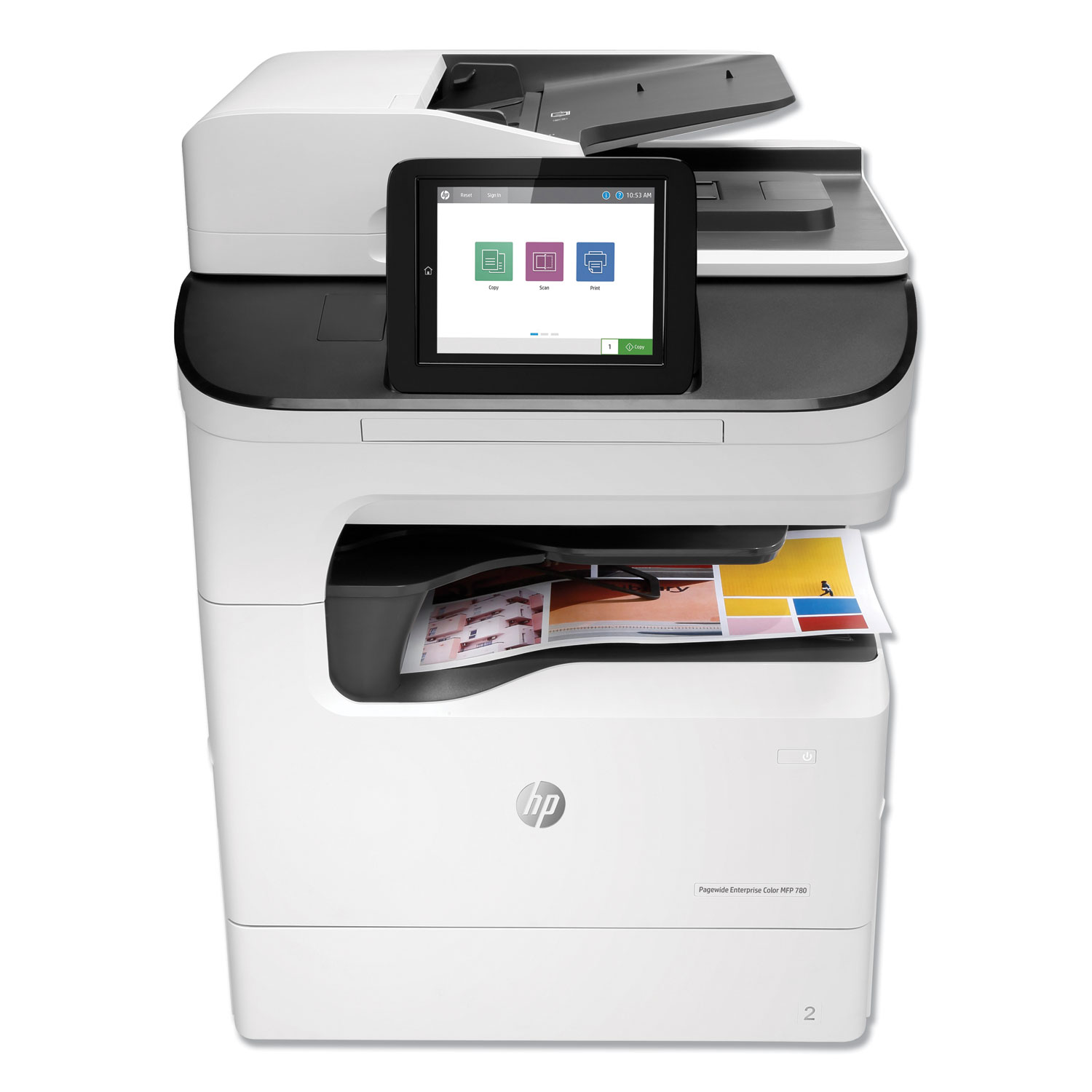 PageWide Enterprise Color MFP 780dns, Copy/Fax/Print/Scan