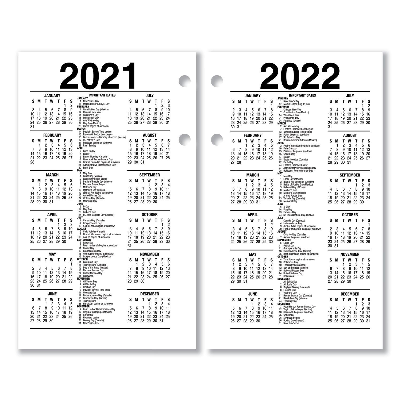 2020 Quotes Desk Calendar: Recycled Desk Calendar Refill, 3 1/2 X 6, White, 2020