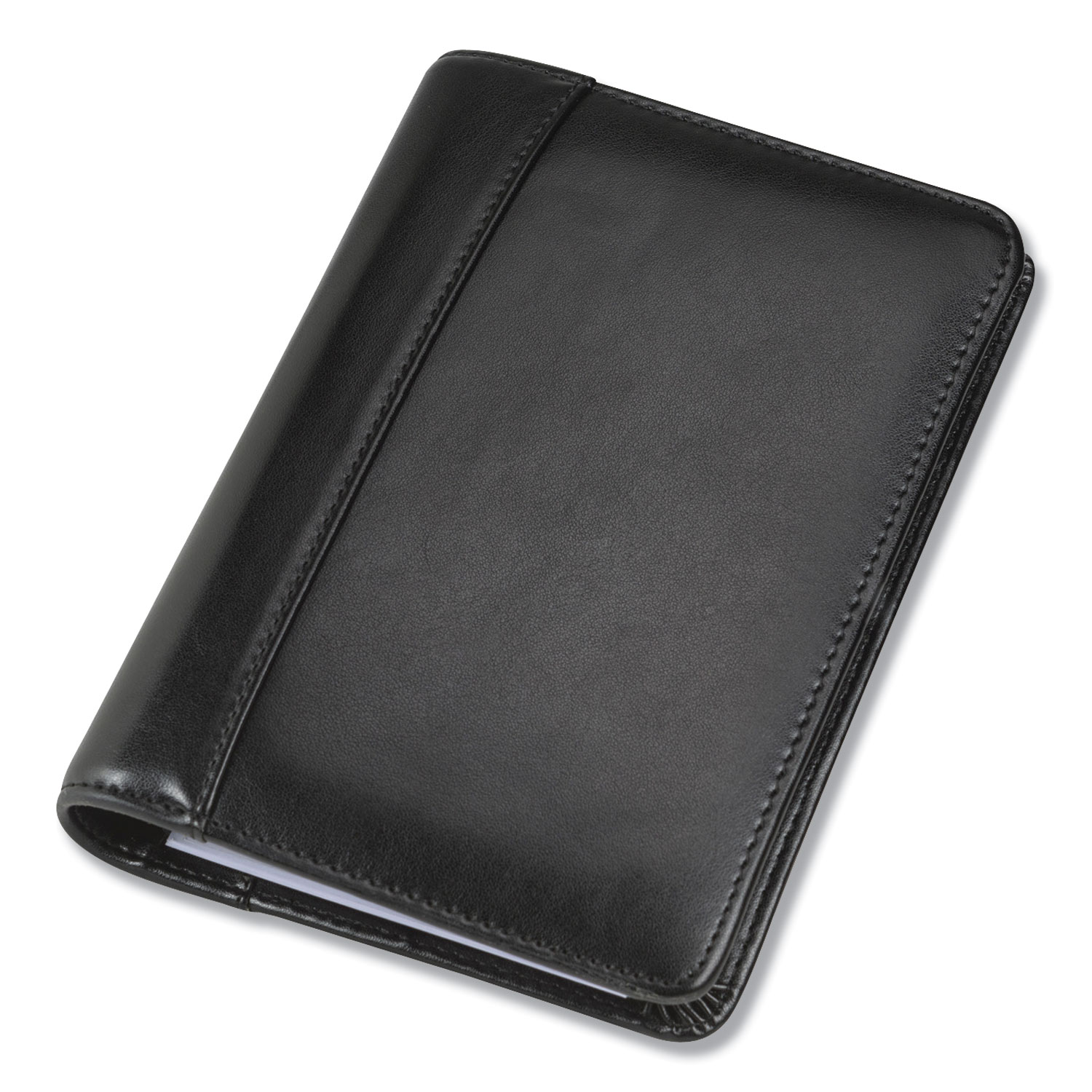 Regal Leather Business Card Binder, 120 Card Capacity, 2 X