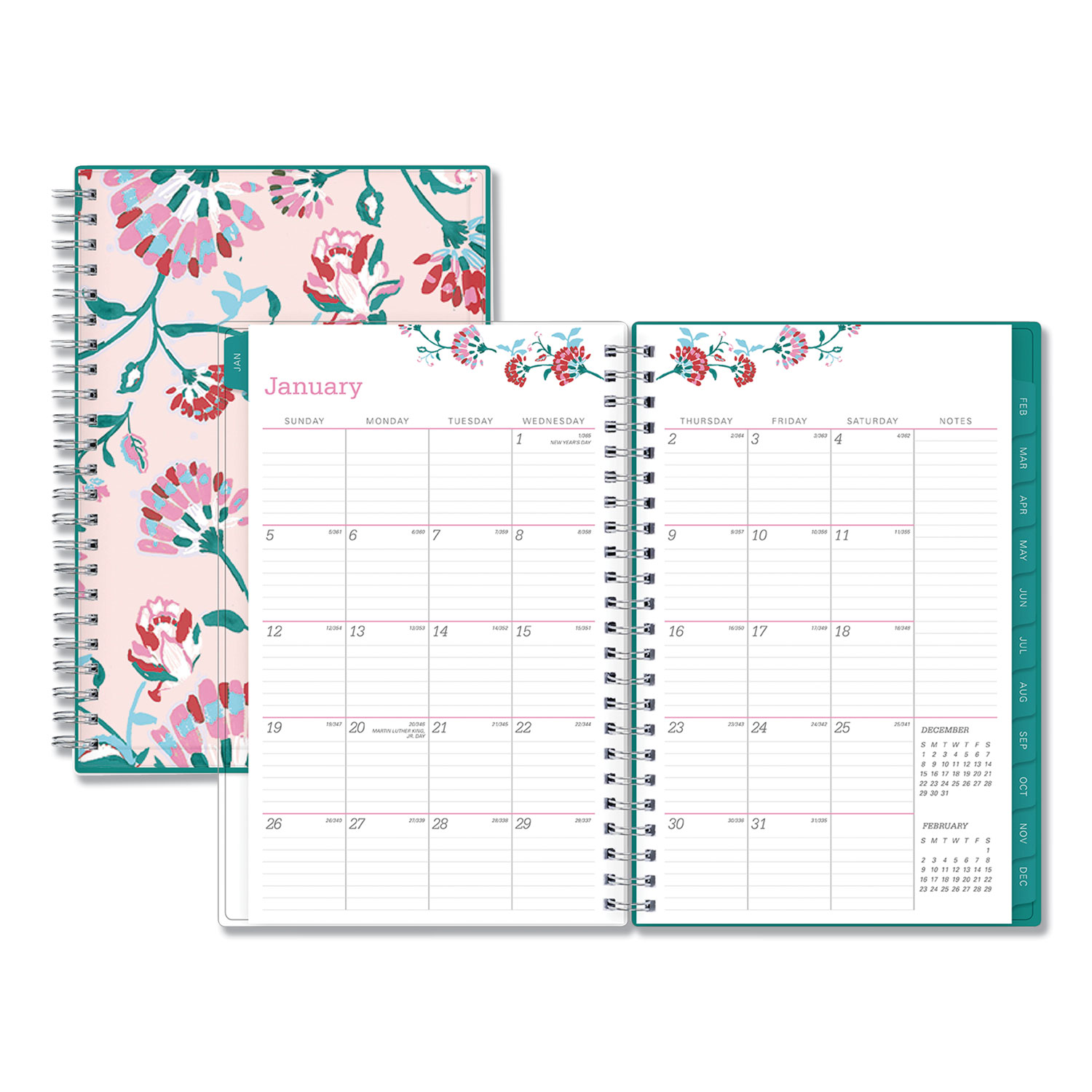 Breast Cancer Awareness Weekly/Monthly Planner, 8 x 5, 2020