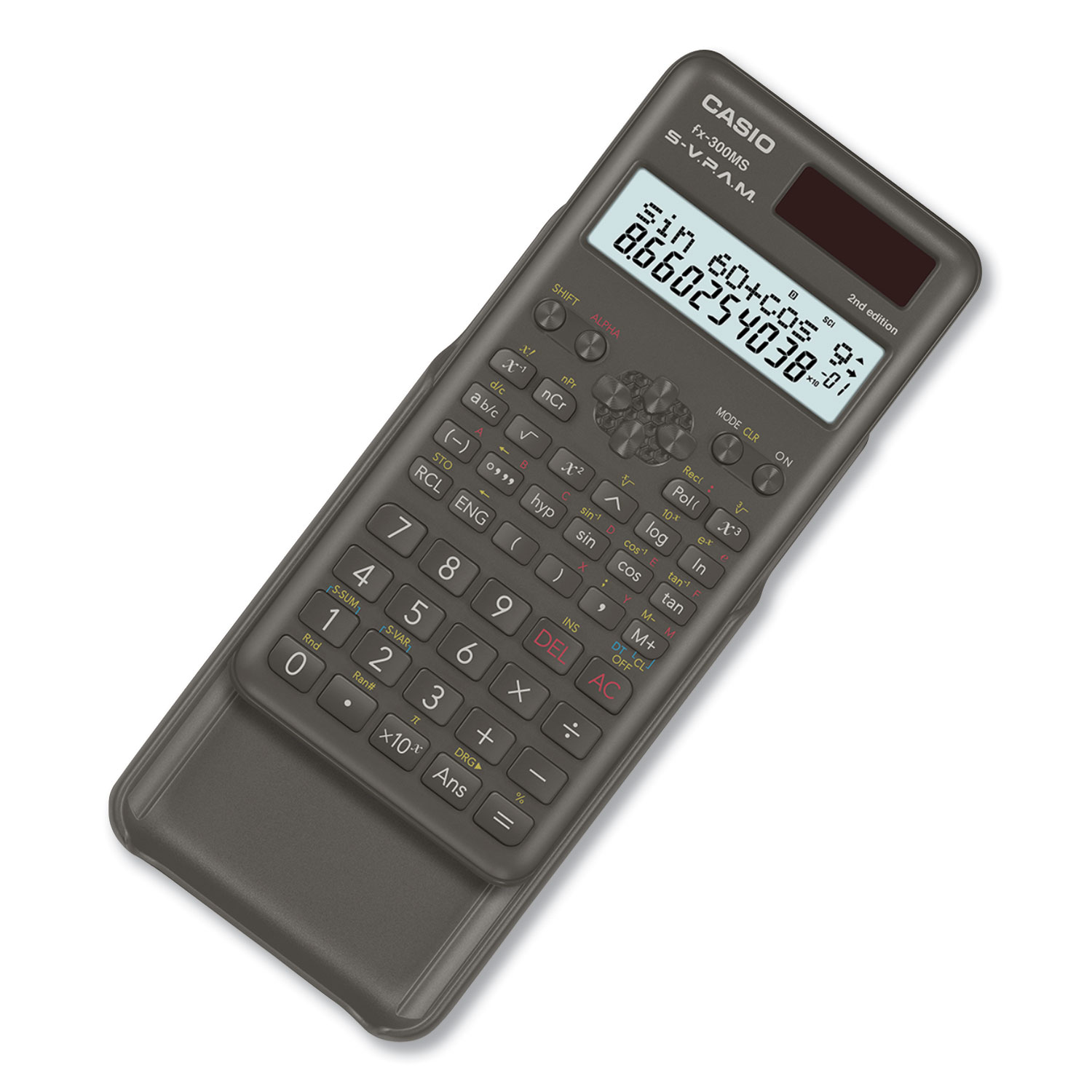 FX-300MSPLUS2 Scientific Calculator, 12-Digit LCD