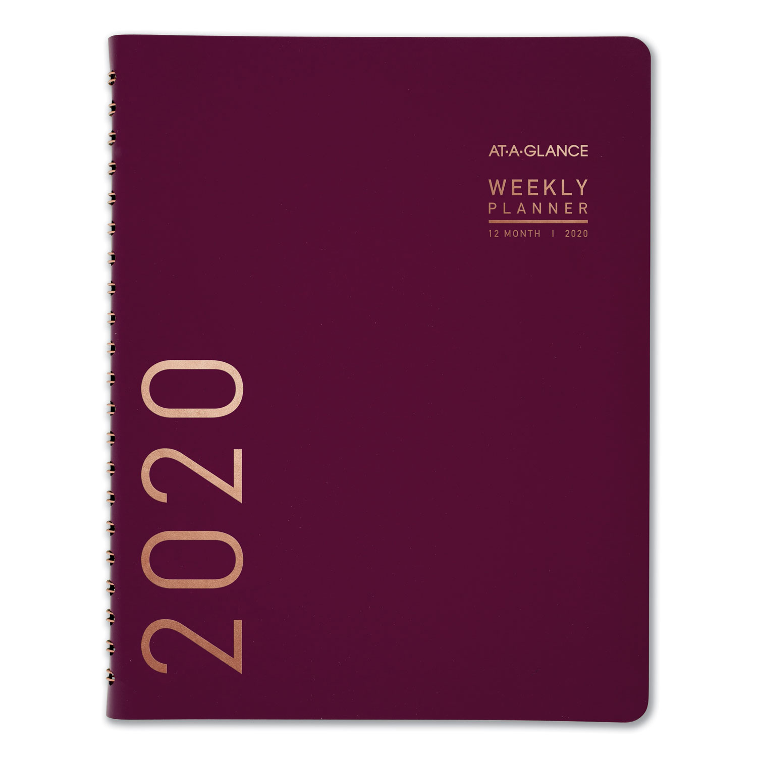 Contemporary Weekly Monthly Appointment Book, 8 1/4 X 10 7/8, Purple, 2020