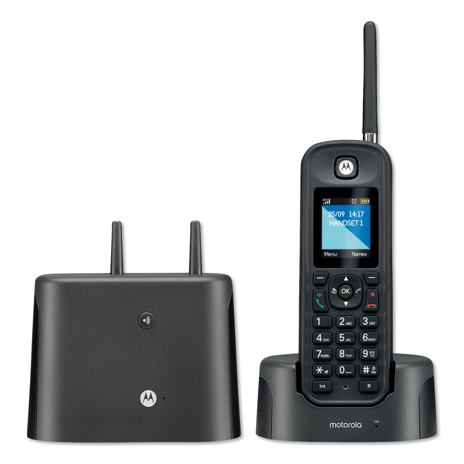MTR0200 Series Digital Cordless Telephone with Answering Machine, 1 Handset
