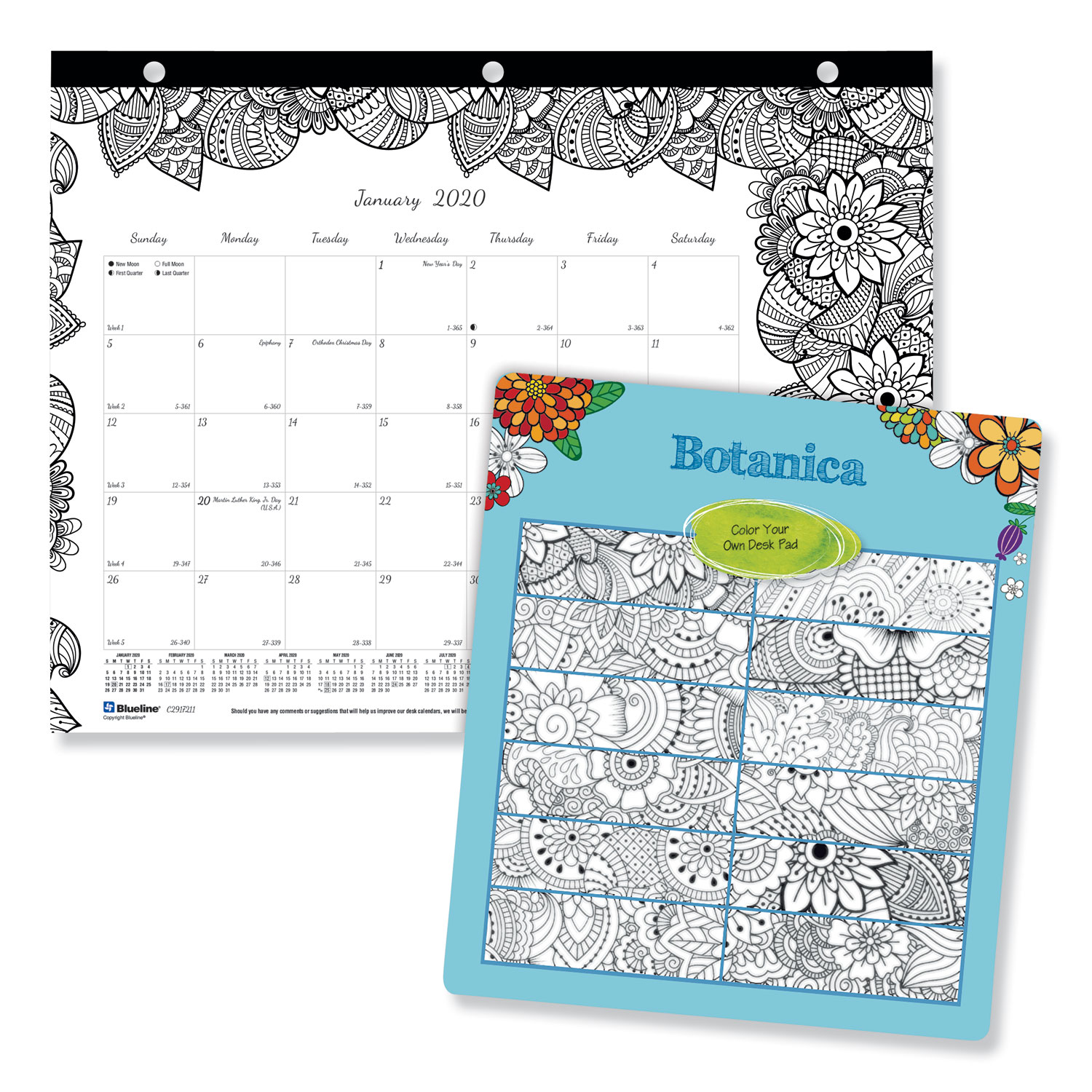 September 2019 Coloring Calendar (With images) | Coloring calendar ... | 1500x1500
