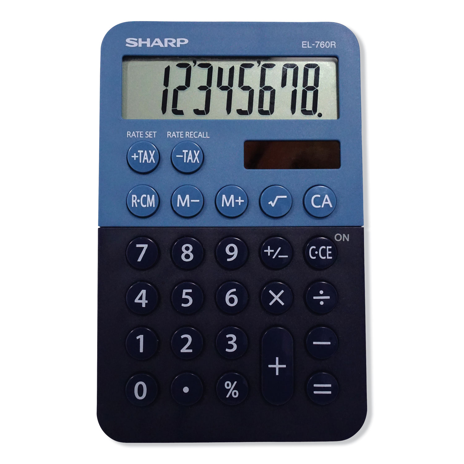 EL-760RBBL Handheld Calculator, 8-Digit LCD