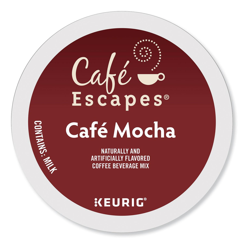 Café Escapes Mocha K-Cups, 24/Box