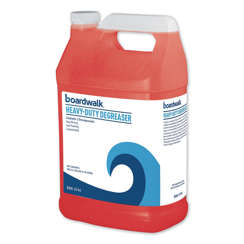 Heavy-Duty Degreaser, 1 Gallon Bottle, 4/Carton