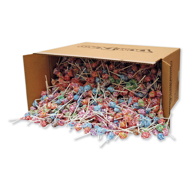 Dum-Dum-Pops, Assorted Flavors, Individually Wrapped, Bulk 30 lb Carton