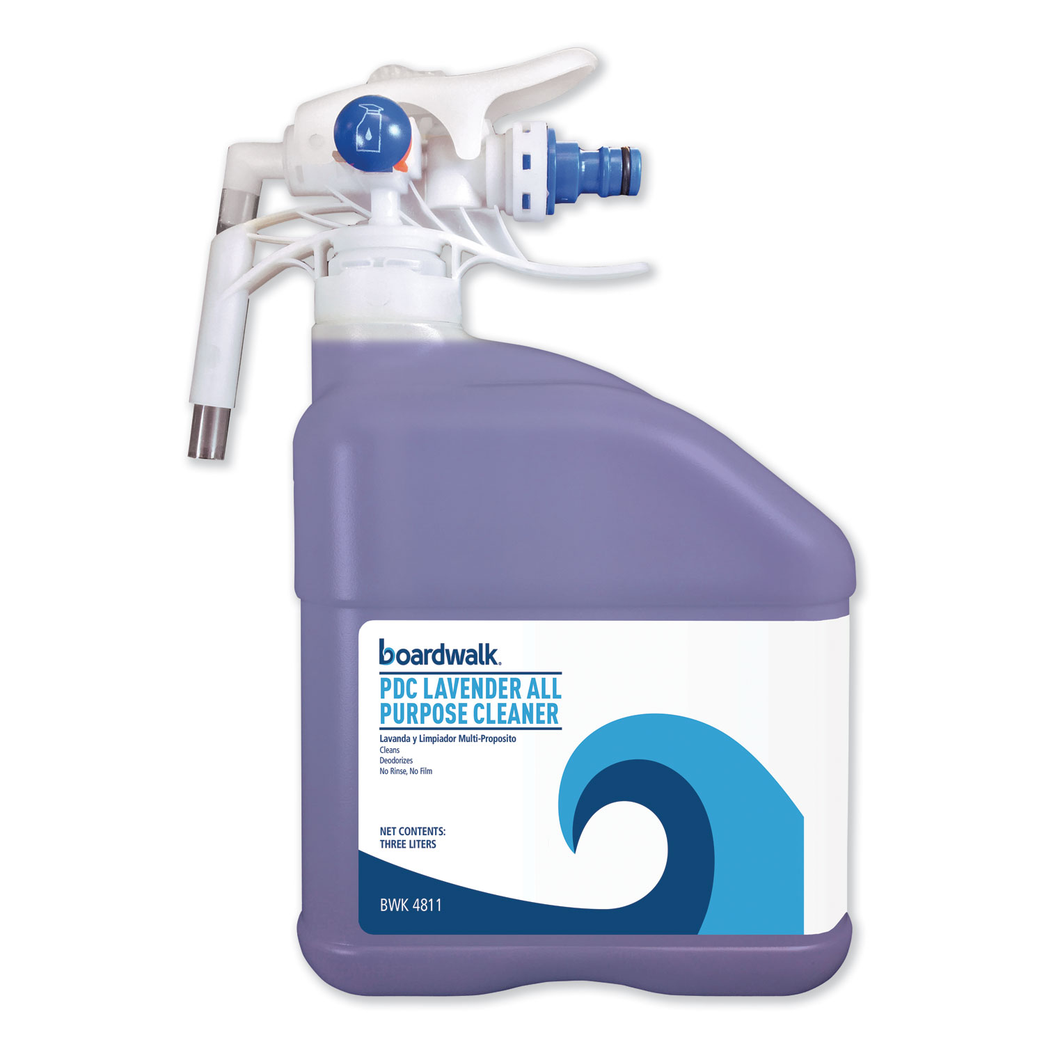 PDC All Purpose Cleaner, Lavender Scent, 3 Liter Bottle, 2/Carton BWK4811