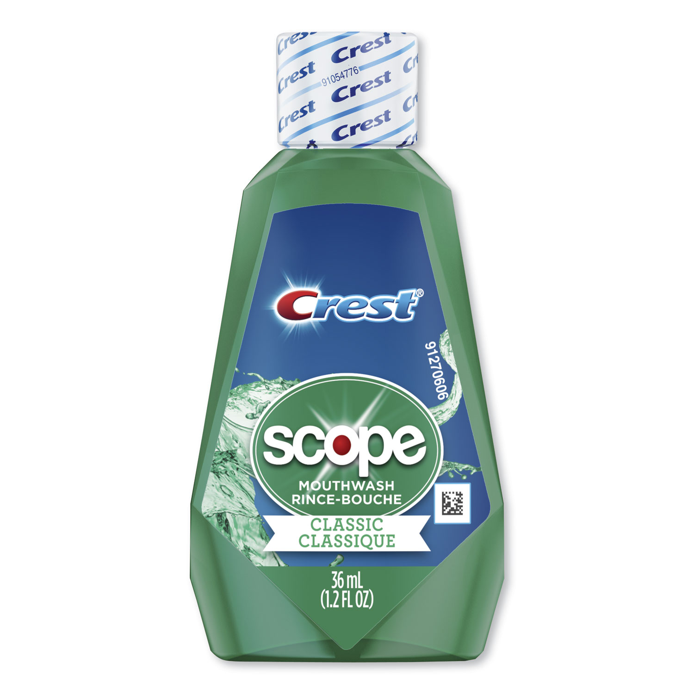 + Scope Rinse, Classic Mint, 36 mL Bottle, 180/Carton PGC97506
