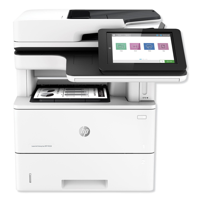 LaserJet Enterprise MFP M528f Multifunction Laser Printer, Copy/Fax/Print/Scan