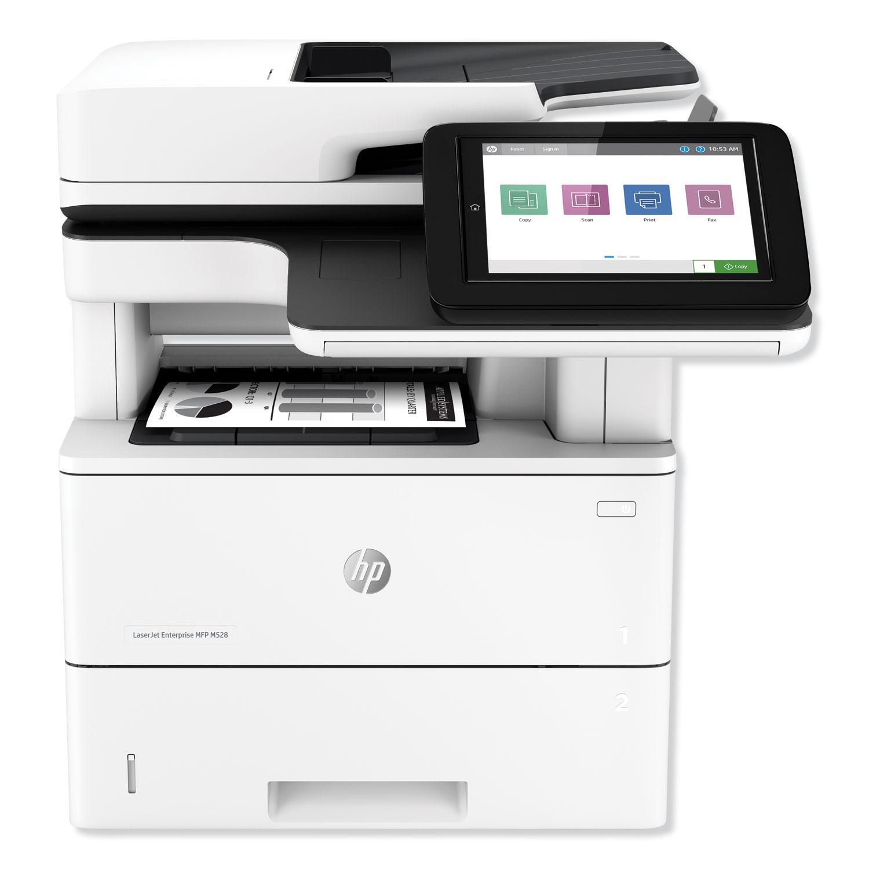 LaserJet Enterprise MFP M528dn Multifunction Laser Printer, Copy/Print/Scan