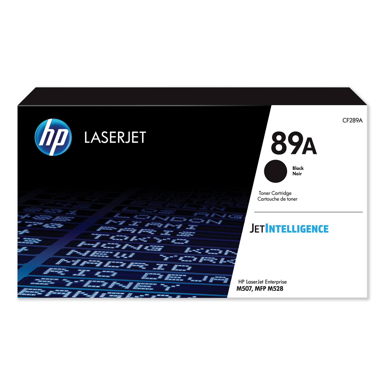 HP 89A, (CF289A) Black Original LaserJet Toner Cartridge