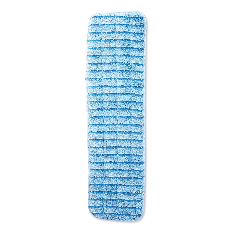 Microfiber Wet Mops, 18 x 5, Blue