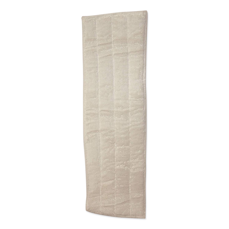 Microfiber Wet Mops, 18 x 5, White