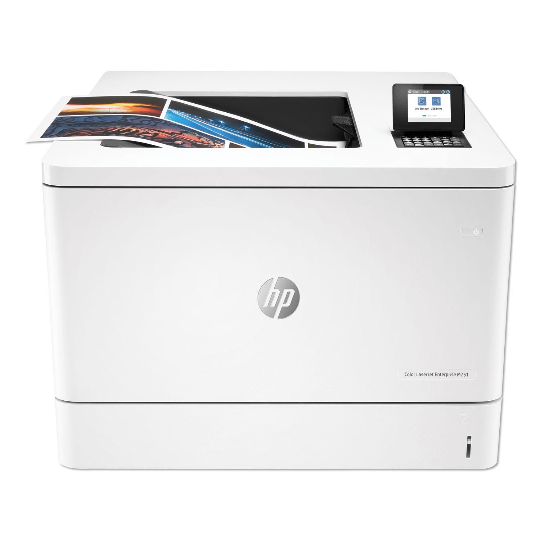 Color LaserJet Enterprise M751dn Laser Printer