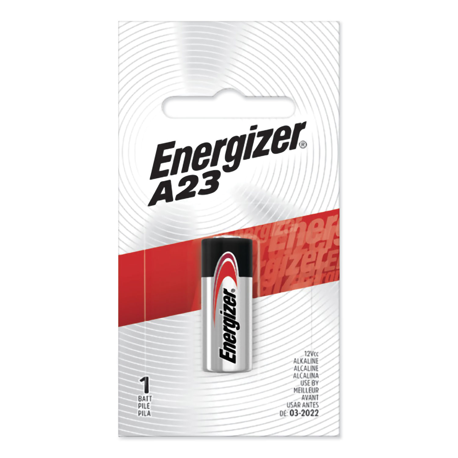 A23BPZ Alkaline Battery, 12V