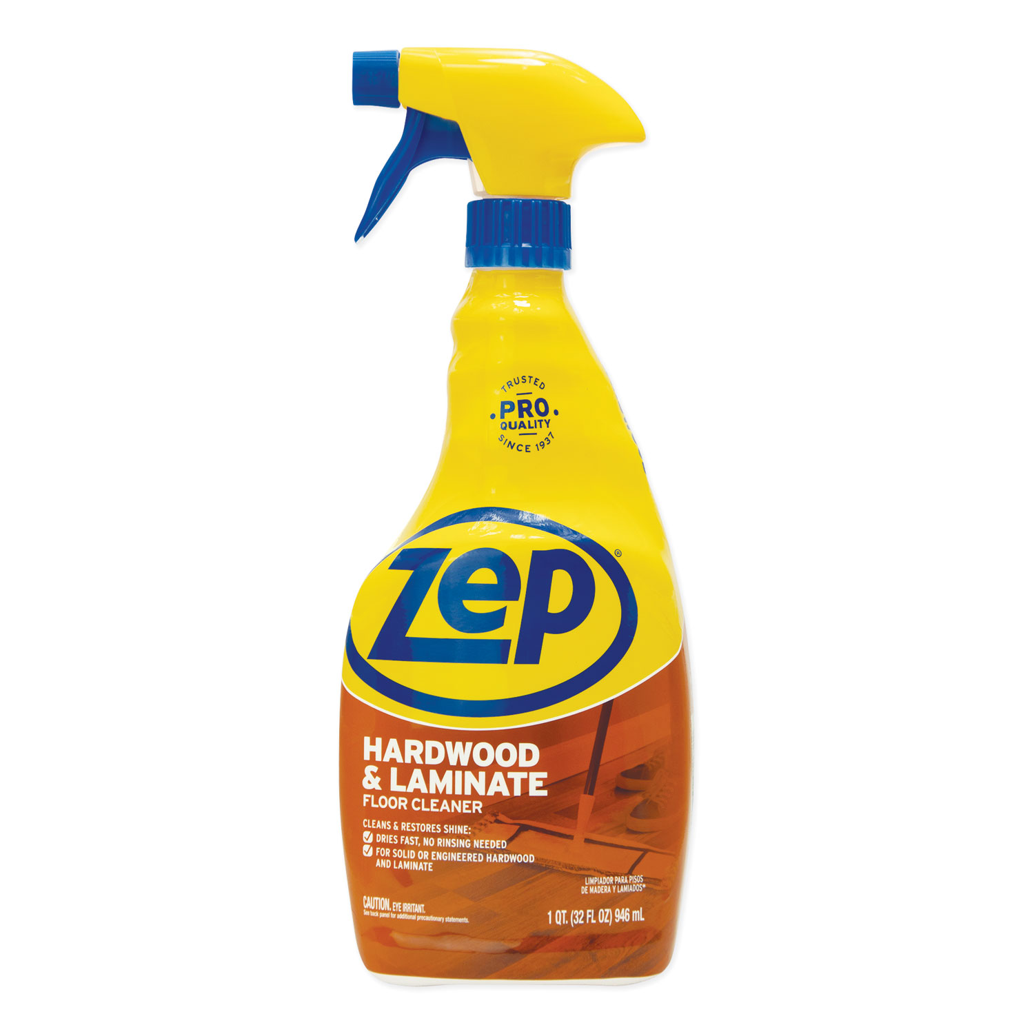 Hardwood and Laminate Cleaner, 32 oz Spray Bottle
