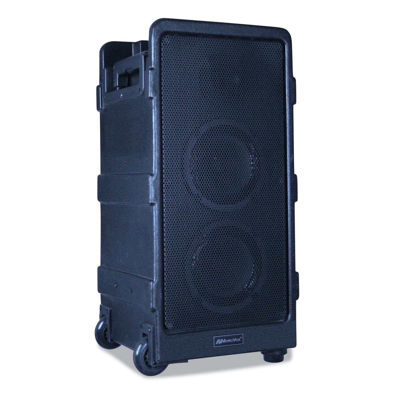 Portable Speaker Digital Audio Travel Partner Plus 250-watts Black