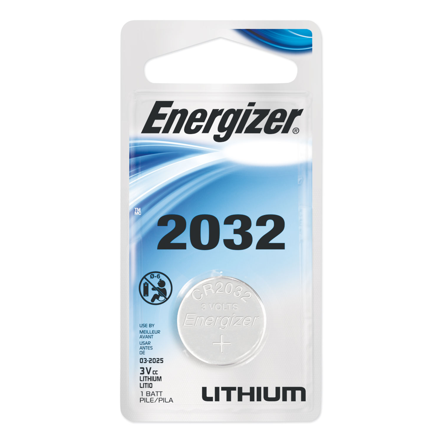 2032 Lithium Coin Battery, 3V