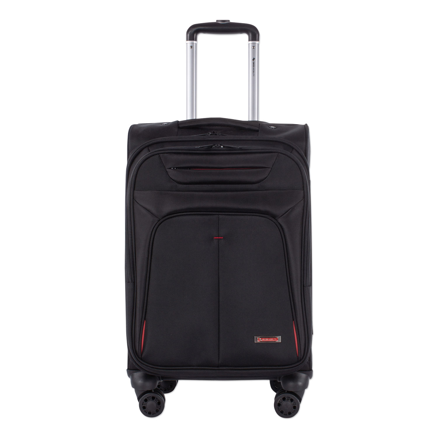"""Purpose Business Carry On, Holds Laptops 15.6"""", 11"""" x 11"""" x 22"""", Black"""