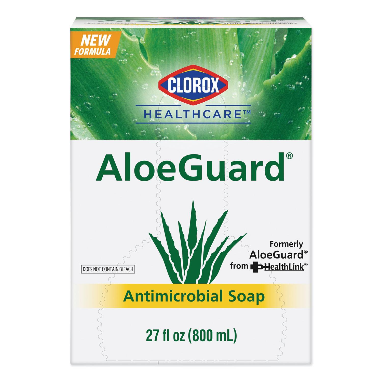 AloeGuard® Antimicrobial Soap, Aloe Scent, 27 oz Bag, 12/Carton