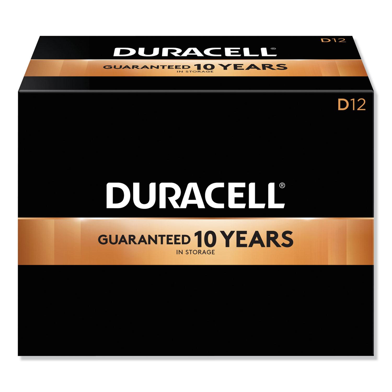 CopperTop Alkaline D Batteries, 72/Carton