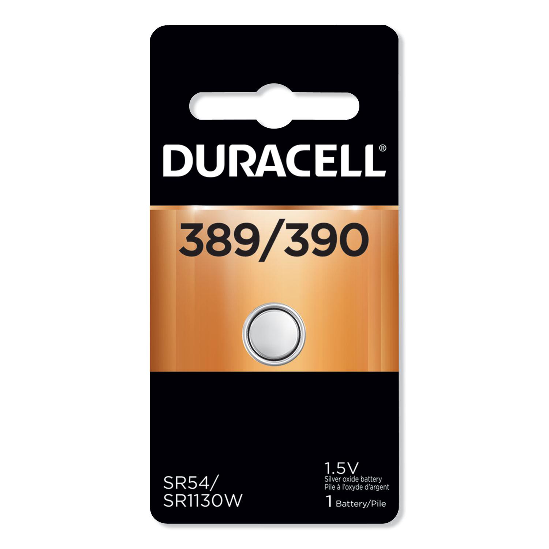 Button Cell Battery, 389, 36/Carton DURMND389BPK