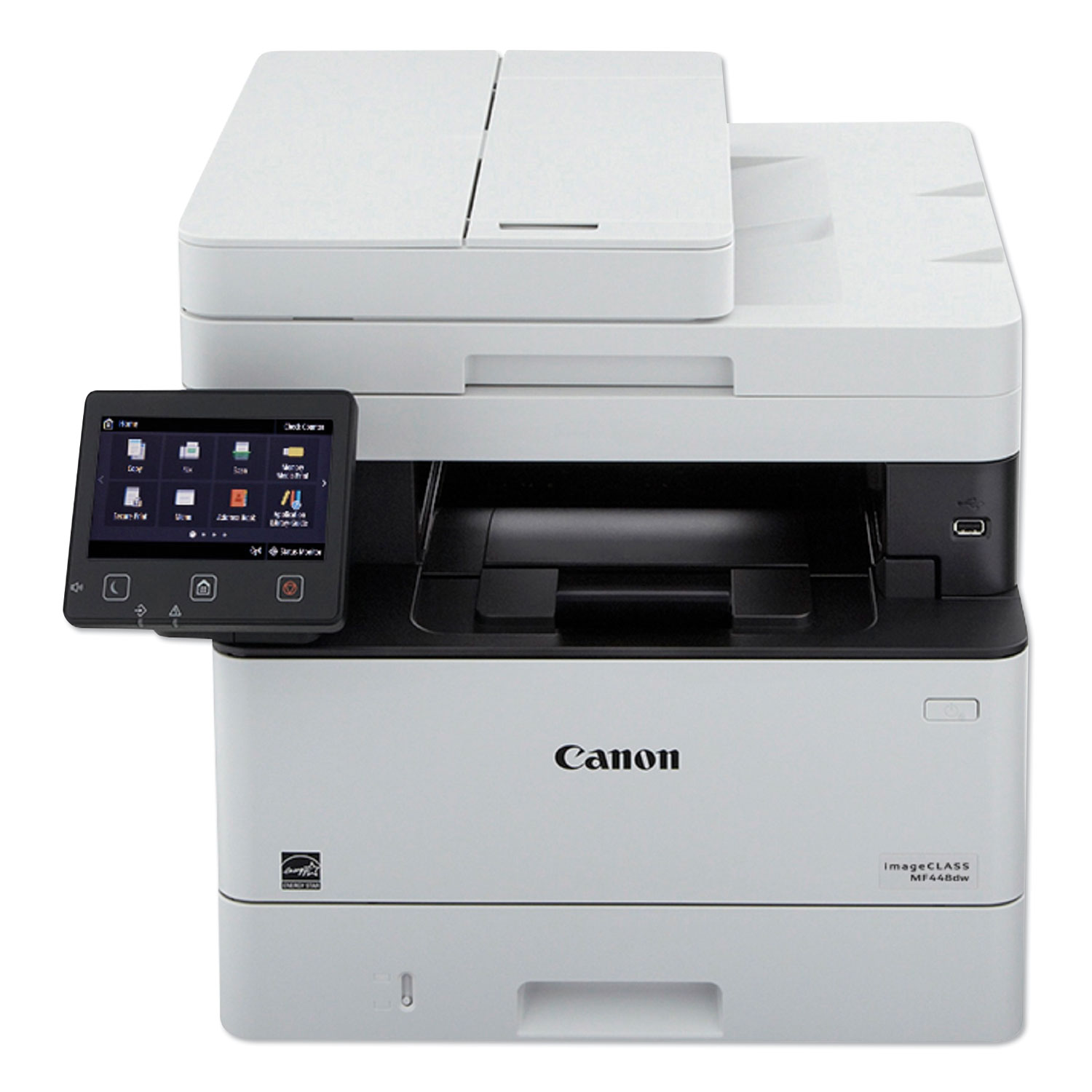 imageCLASS MF448dw Black and White Compact Multifunction Printer, Copy/Fax/Print/Scan