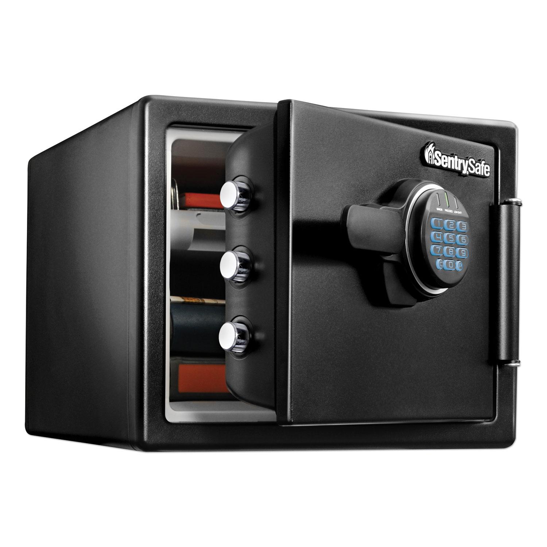 Fire-Safe with Digital Keypad Access, 2 cu ft, 18.67w x 19.38d x 23.88h, Black